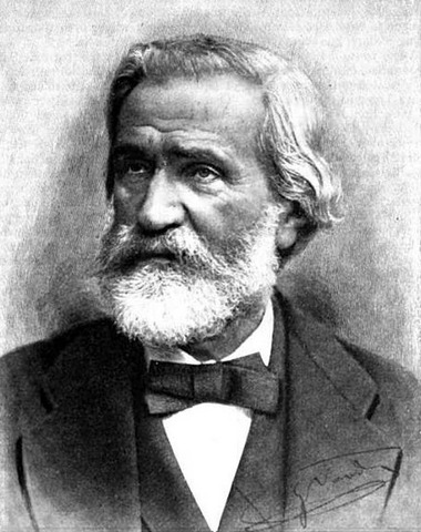 Giuseppe Verdi was born