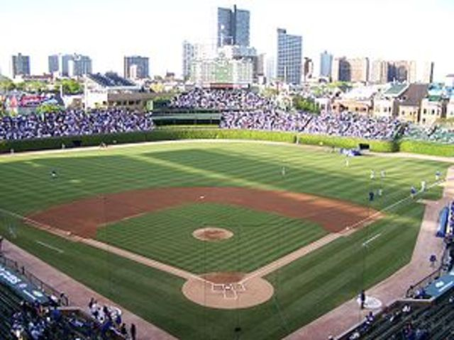 Wrigly Field Adds Lights