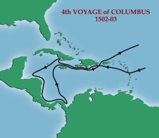 christopher columbus first and fourth voyage Kids learn about the biography and life of explorer christopher columbus  columbus spent years trying to convince someone to pay for his voyage he first.