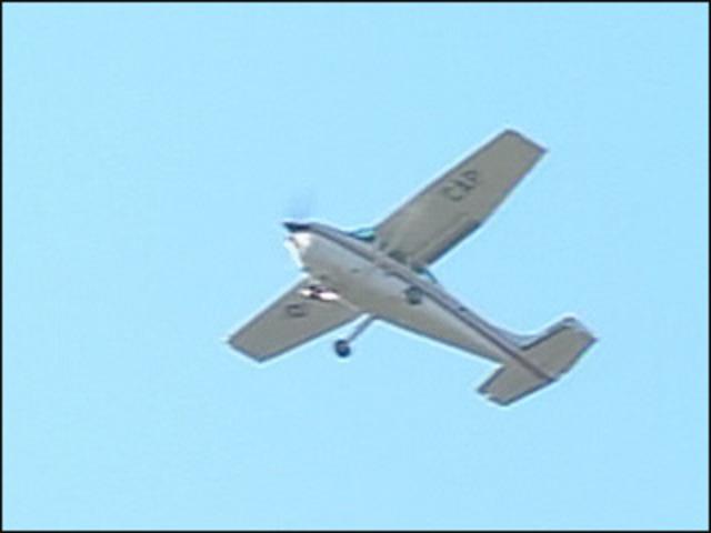 Search plane