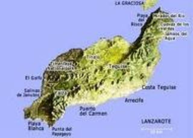 Llega Juan  de Bethencourt a Lanzarote