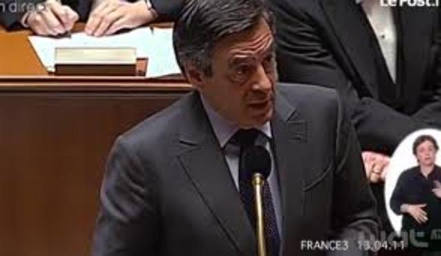 F. Fillon's declaration