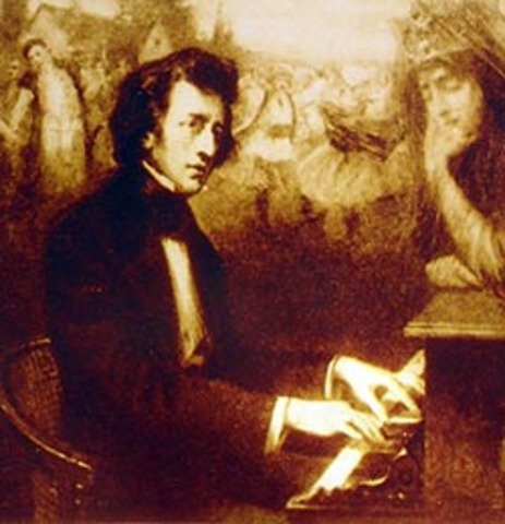 In 1817 he published his first work (La Polonesa)