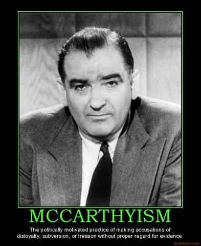 McCarthyism starts