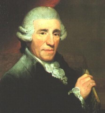 Franz Joseph Haydn, Born.