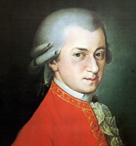 Wolfgang Amadeus Mozart, Born