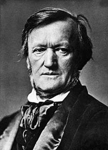 Richard Wagner, Born.