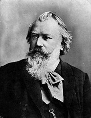 Johannes Brahms, Born.