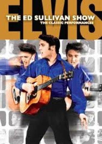 Elvis 1st appears on Ed Sullivan
