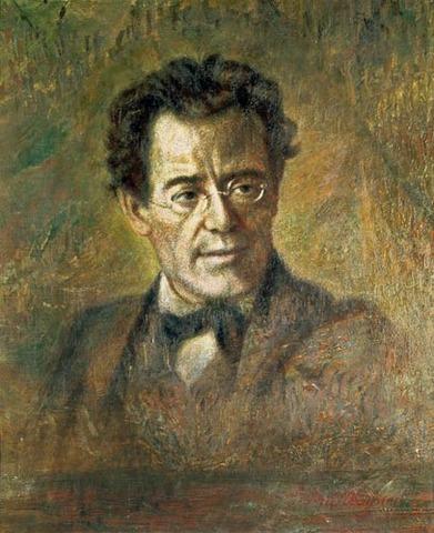 Gustav Mahler, Born.