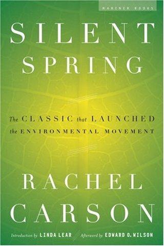 Rachel Carson's Silent Spring published