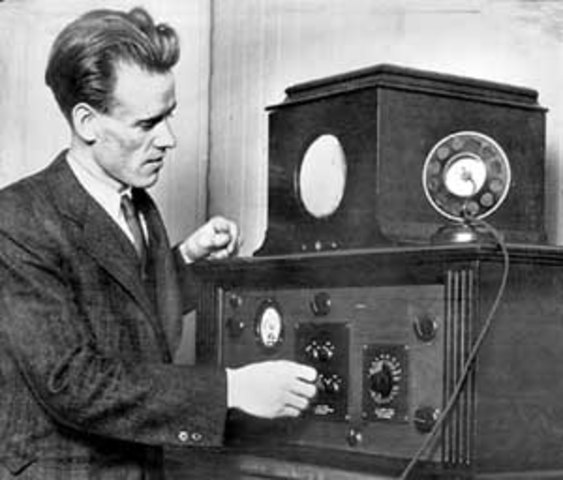 The First Electronic TV