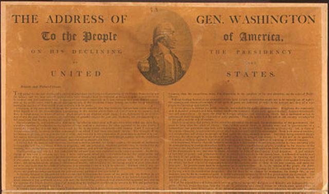 "Washington's ""Farewell Address"""