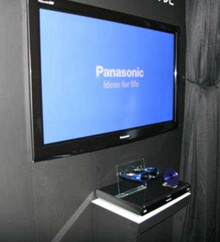 First 3D TV