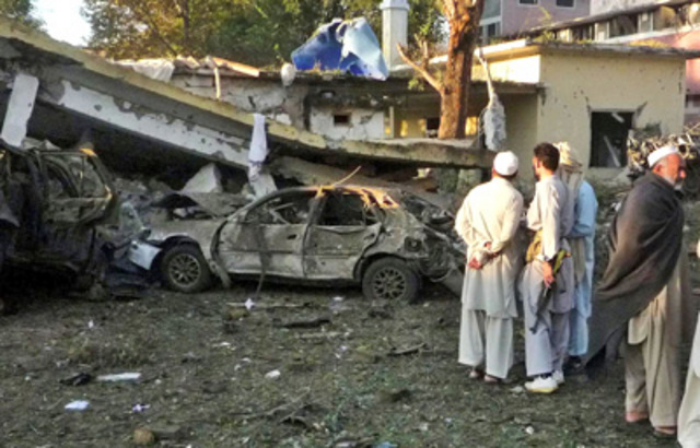 """<a href=""""http://www.nytimes.com/2008/10/17/world/asia/17pstan.html"""" rel=""""nofollow"""">An attack on apolice station</a> in the Swat district town of Mingora kills four security officials."""