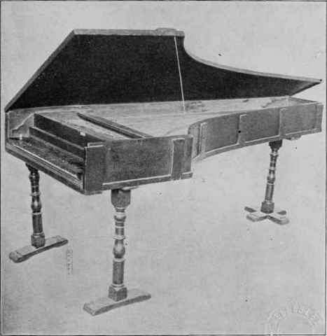 First piano ever made
