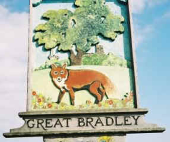 -2010: 1st Village Sign                honours Charles & Di
