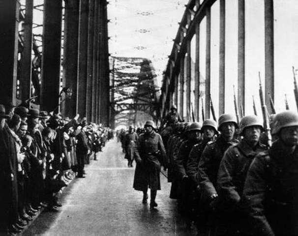 Einmarsch ins entmilitarisierte Rheinland