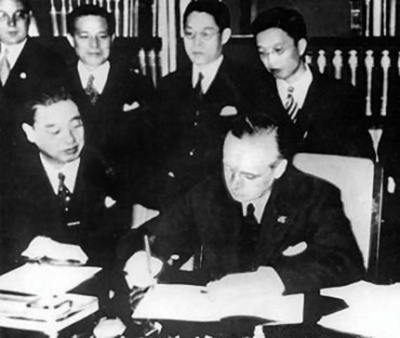 Antikomintern-Pakt mit Japan