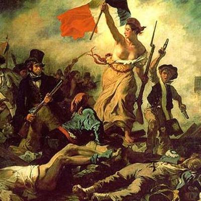 Revolución francesa - II Guerra Mundial timeline