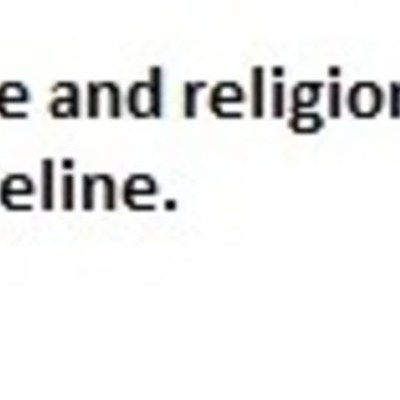 sose and religion timeline.