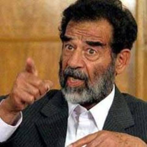Guerra Irán-Irak Sadam Hussein