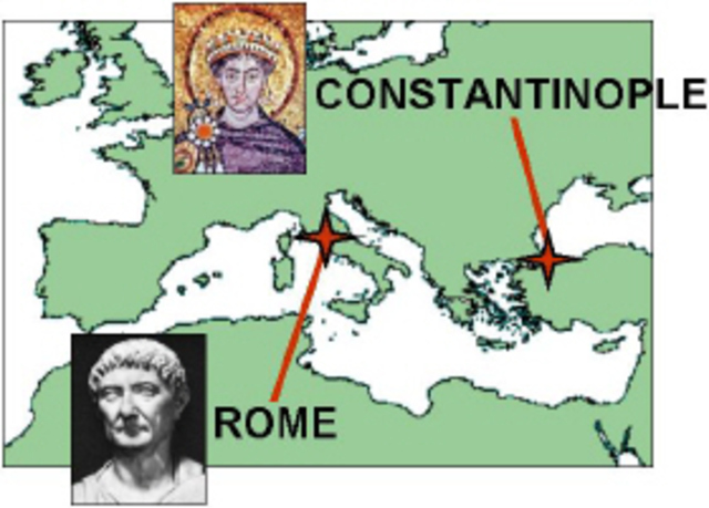 great schism between rome and constantinople Anna ganserperiod 6the great schism between rome and constantinoplethe  schism between the roman catholics and the orthodox christians was mainly.