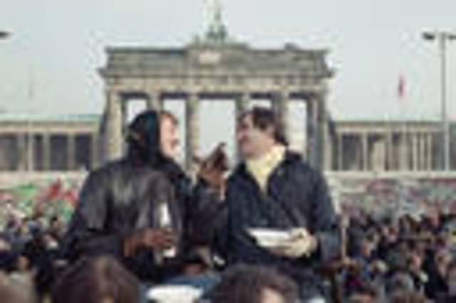 Opening of the Brandenburg Gate