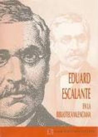 Eduard Escalante; els sainets