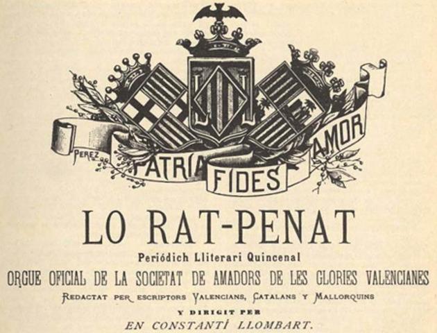 Naixement de Lo Rat Penat
