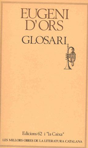 Eugeni d'Ors, les glosses