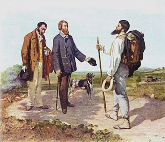 Bonjour Monsieur Courbet 1854