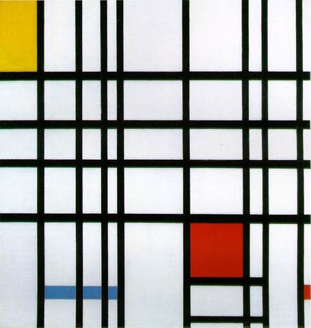 Composition with Red and Yellow and Blue 1930