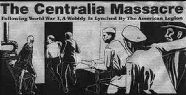 The Centailia Massacre