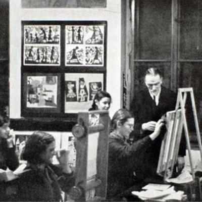 History of American Art Education 1800-2000 timeline