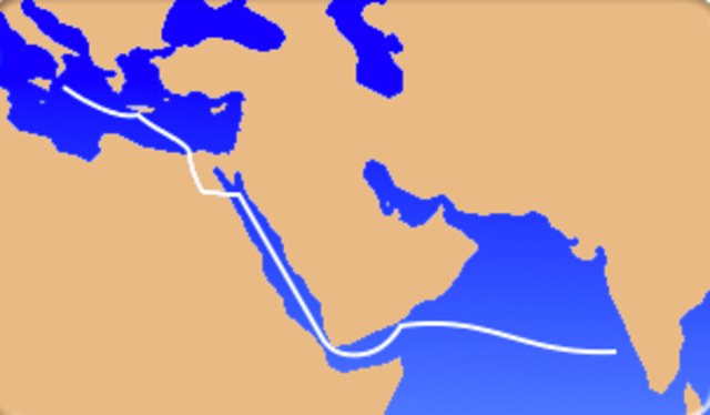Trading Between the Romans and Indians