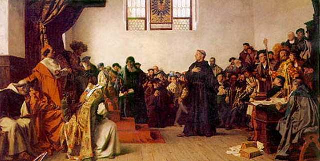 Excommunation of Martin Luther
