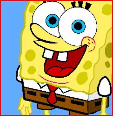 I loved Spongebob and his goofy smile