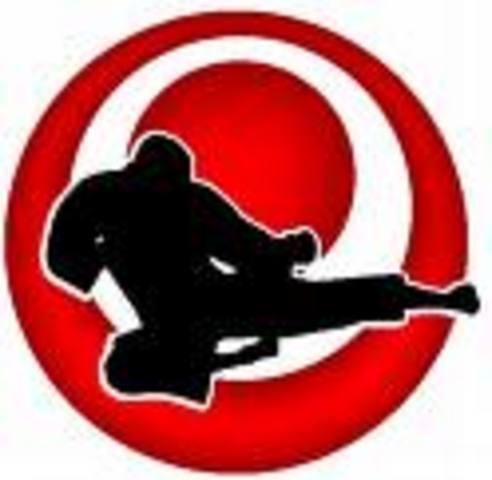 Entre a entrenar karate y gane mi primer torneo