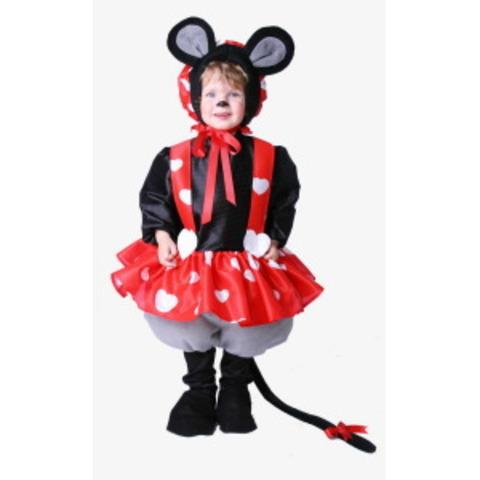 Cuando tenia 2 añitos  mis padres me difrasaron de ratoncita