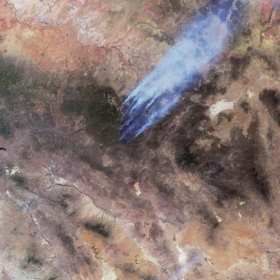 New Mexico Region Wildfires 2011 timeline