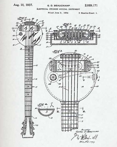 Guitar- First Electric Guitar