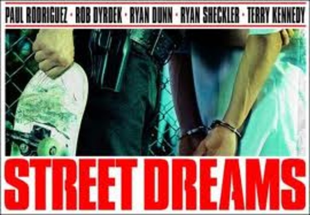 """Rob started filming """"Street Dreams"""""""