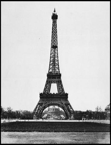 Torre acabada, Lista para su inauguracion.