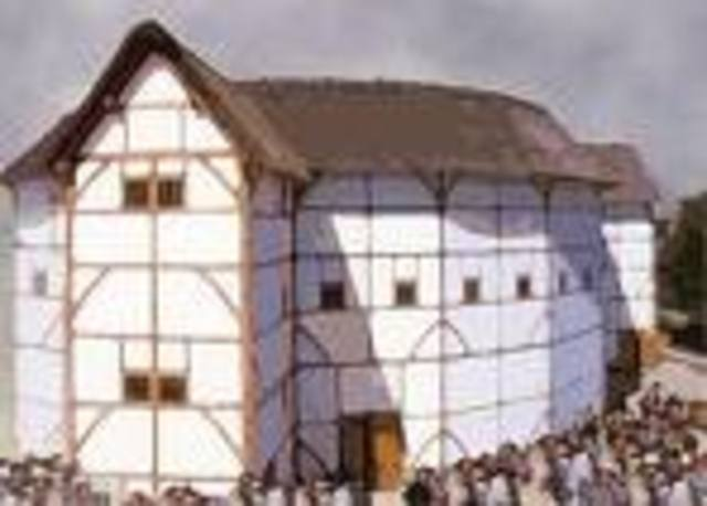 The Erection of the Globe Theatre
