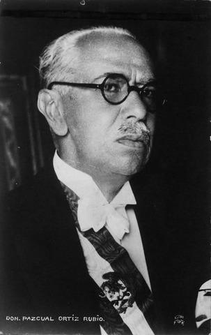 PASCUAL ÓRTIZ RUBIO (1877-1963)