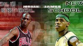 MJ VS LBJ timeline
