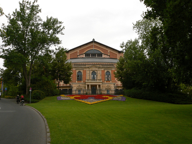 Opening of Bayreuth Theatre