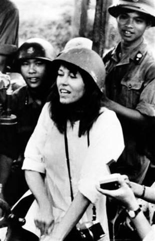 Jane Fonda against the Vietnam War