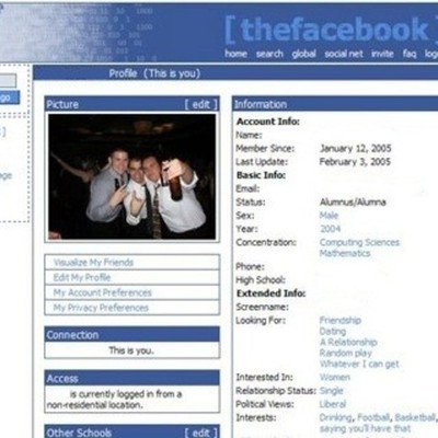Facebook's  Timeline